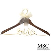 bride clothes hanger