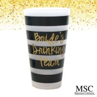 brides cups, bridesmaids
