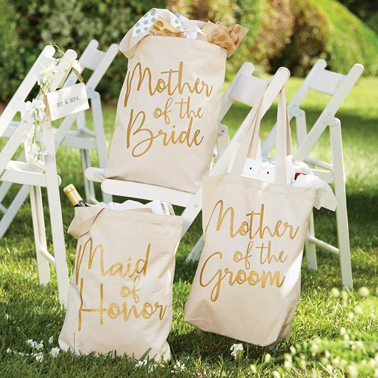 Mother Of The Groom Tote Made Of Canvas Bridal Party Boston Bags Tags